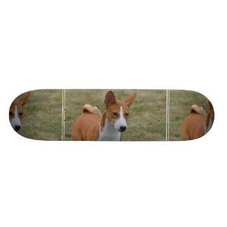 Amazing Basenji Dog Skate Board Deck