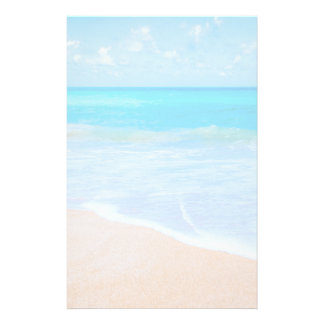 Amazing Beach Tropical Scene Photo Stationery