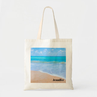 Amazing Beach Tropical Scene Photo Tote Bag
