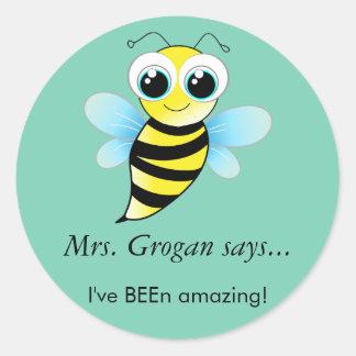 Amazing Bee Sticker