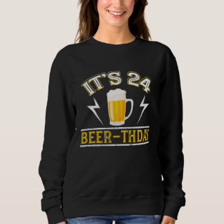 Amazing Beer T-Shirt For 24 Years Old.
