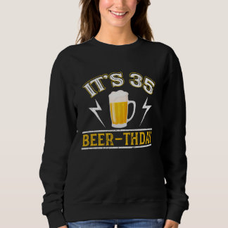 Amazing Beer T-Shirt For 35 Years Old.