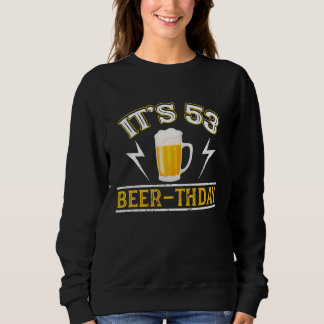 Amazing Beer T-Shirt For 53 Years Old.