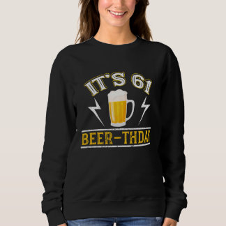 Amazing Beer T-Shirt For 61 Years Old.