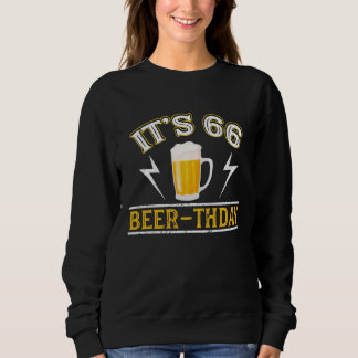 Amazing Beer T-Shirt For 66 Years Old.