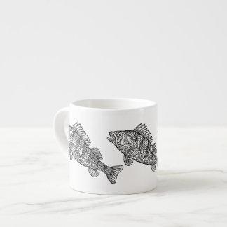 Amazing Black and White Fish Mug