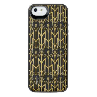 Amazing Black-Gold Art Deco Design iPhone SE/5/5s Battery Case