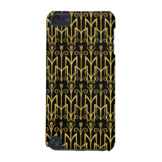 Amazing Black-Gold Art Deco Design iPod Touch 5G Cover