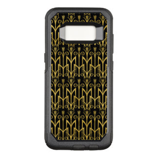 Amazing Black-Gold Art Deco Design OtterBox Commuter Samsung Galaxy S8 Case