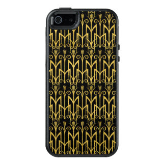 Amazing Black-Gold Art Deco Design OtterBox iPhone 5/5s/SE Case