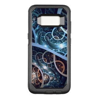 Amazing Blue Fractal Art OtterBox Commuter Samsung Galaxy S8 Case
