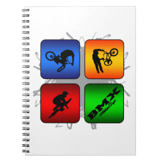 Amazing BMX Urban Style Notebooks