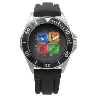 Amazing BMX Urban Style Watch