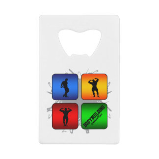 Amazing Bodybuilding Urban Style Credit Card Bottle Opener