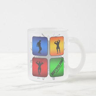 Amazing Bodybuilding Urban Style Frosted Glass Coffee Mug