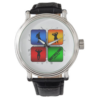 Amazing Bodybuilding Urban Style Wristwatch