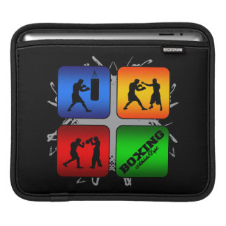 Amazing Boxing Urban Style iPad Sleeves