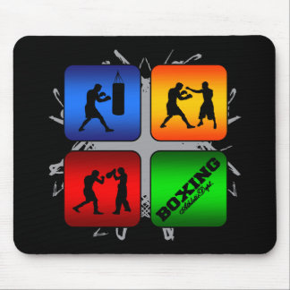 Amazing Boxing Urban Style Mouse Pad