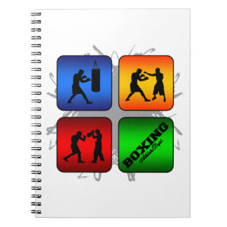Amazing Boxing Urban Style Notebooks