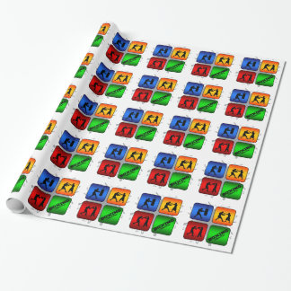 Amazing Boxing Urban Style Wrapping Paper