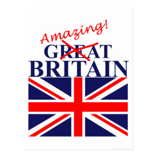Amazing Britain Postcard