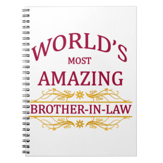 Amazing Brother-In-Law Spiral Note Books