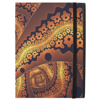 "Amazing Brown Abstract Fractal Art iPad Pro 12.9"" Case"
