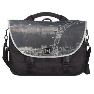 Amazing! Buckingham Palace Millennium Wheel Laptop Shoulder Bag