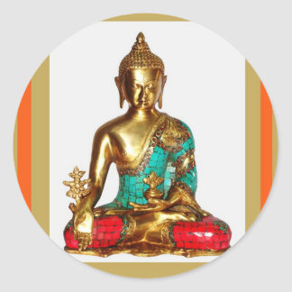 AMAZING BUDDHA for your HOME Classic Round Sticker