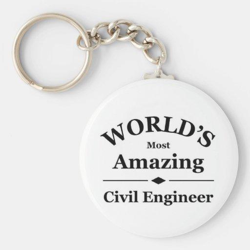 Amazing Civil Engineer Key Chain