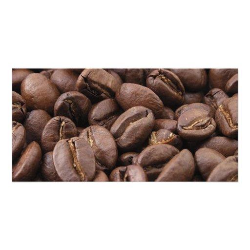 Amazing coffee photo-2 custom photo card