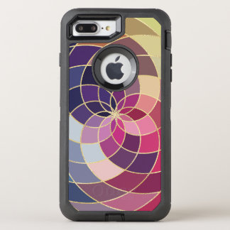 Amazing Colorful Abstract Design OtterBox Defender iPhone 7 Plus Case