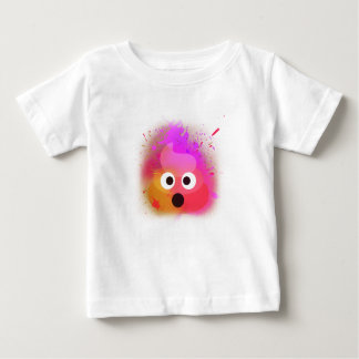 Amazing colourful poop emoji baby T-Shirt
