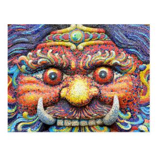 Amazing Colourful Thailand Postcard