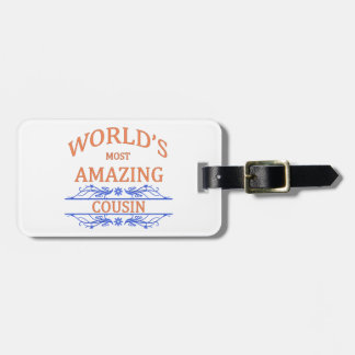 Amazing Cousin Luggage Tag
