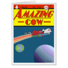 AMAZING COW CARD