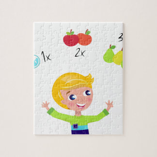 Amazing cute School boy : Tshirts Jigsaw Puzzle