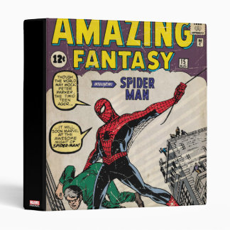 Amazing Fantasy Spider-Man Comic #15 Binders
