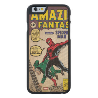 Amazing Fantasy Spider-Man Comic #15 Carved Maple iPhone 6 Case