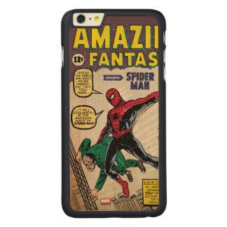 Amazing Fantasy Spider-Man Comic #15 Carved Maple iPhone 6 Plus Case