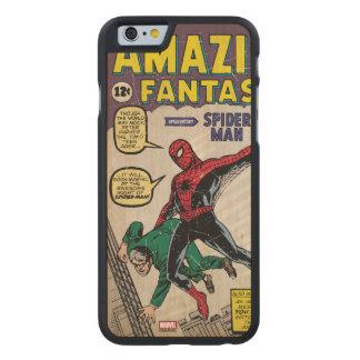 Amazing Fantasy Spider-Man Comic #15 Carved® Maple iPhone 6 Slim Case