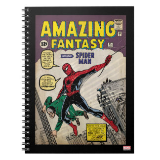 Amazing Fantasy Spider-Man Comic #15 Notebook