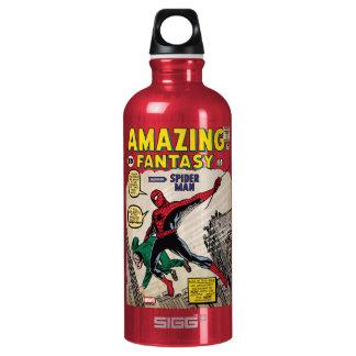 Amazing Fantasy Spider-Man Comic #15 Water Bottle