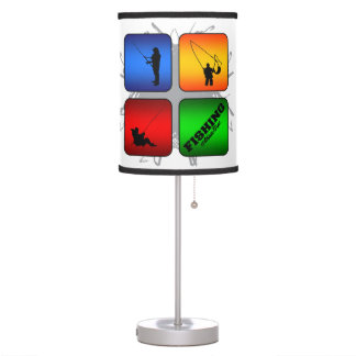 Amazing Fishing Urban Style Desk Lamps