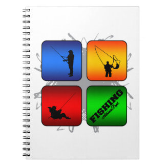 Amazing Fishing Urban Style Notebook