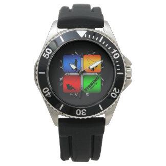 Amazing Fishing Urban Style Wristwatch