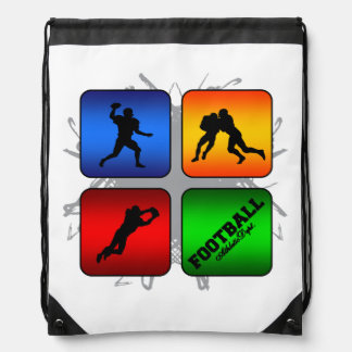 Amazing Football Urban Style Drawstring Bag