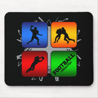 Amazing Football Urban Style Mouse Pad