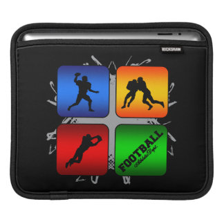 Amazing Football Urban Style Sleeves For iPads