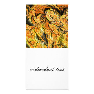 amazing fractal 06 (SF) Personalized Photo Card